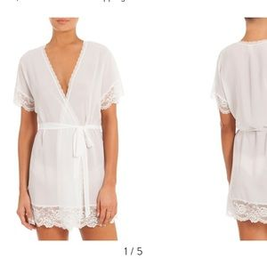 NWT Chiffon Bridal Robe (S) by In Bloom by Jonquil